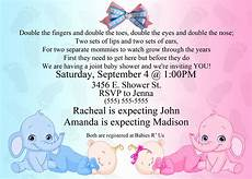 Free Online Baby Shower Invitations Templates Baby Shower Invitation Ideas For Twins Free Printable