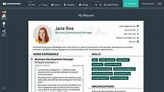 Best Online Cv Maker Create Professional Cv Online Free The Online Resume