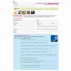 Physiotherapy Assessment Chart Physiotherapy Clinical Assessment Form Collection