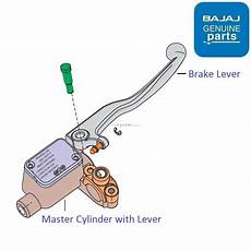 Light Cylinder Pulsar Bajaj Pulsar As150 Master Cylinder