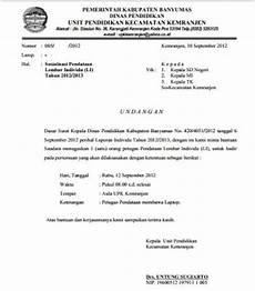 contoh surat undangan sosialisasi resmi kepada kepala