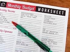 Home Budget Worksheets Printable Monthly Budget Worksheet