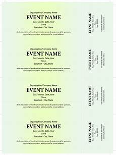 Ticket Making Template Commercial Event Ticket Template