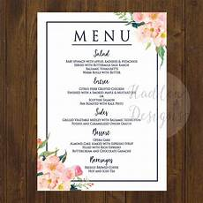 Wedding Menu Cards Hadley Designs Menus
