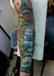 With Designs On Them Jungle Sleeve Designs Ideas And Meaning Tattoos