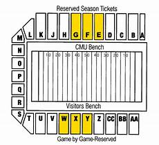 Shorts Stadium Seating Chart Central Michigan Chippewas 2012 Football Schedule