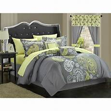 chic home olinda paisley print reversible 20 bed in