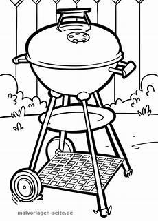 Malvorlagen Kostenlos Grillen Malvorlage Grill Haushalt