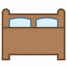 bed bedroom home hotel house real estate room icon