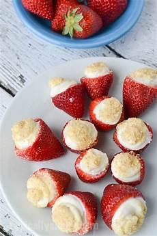 no bake strawberry cheesecake bites typically simple