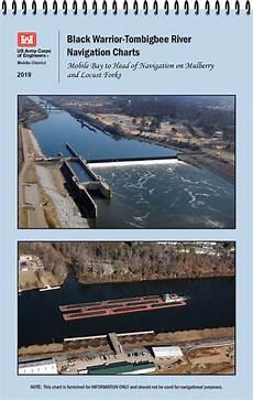 Alabama River Navigation Charts Black Warrior Tombigbee River Navigation Chart Mobile Bay