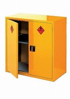 hazardous storage cabinet large horizontal two door edulab