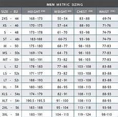 Masse Size Chart Gr 246 223 Entabellen