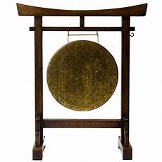Gong Design Anglo Japanese Gong Designed By E W Godwin For Sale At