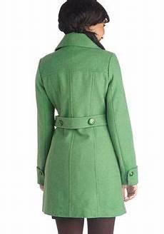 coats aloe wonens why ello there coat in green modcloth coat coats