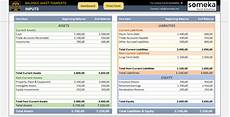 Sample Excel Balance Sheet Excel Balance Sheet Template Free Accounting Templates