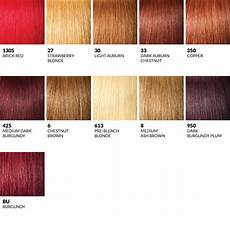 Hair Number Chart Outre Color Charts