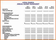 Church Budget Spreadsheet 10 Sample Church Budget Spreadsheet Excel Spreadsheets
