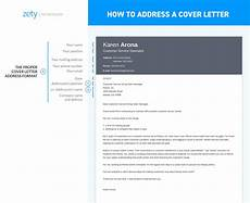 Address Cover Letter No Name How To Address A Cover Letter And Who Should It Be To