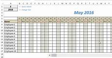 Tracking Calendar Template Free Excel Leave Tracker Template Updated For 2019