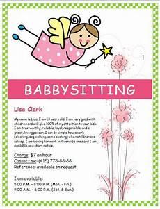Babysitting Pamphlets Image On Hloom Com Http Www Hloom Com Free Babysitting