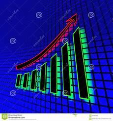 Voltarc Neon Chart Neon Business Chart Stock Illustration Image 53767556