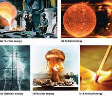 What Are Some Examples Of Light Energy Energy And Work