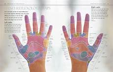 Hand Chart Reflexology Hand And Foot Maps Peacock And Paisley