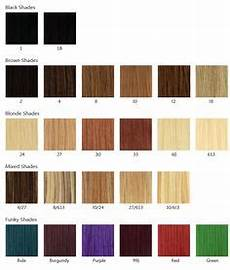 Boss Weave Color Chart Hair Weave Number Color Chart The Hair Tho Pinterest