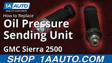 2000 Chevy Blazer 4 Wheel Drive Light Flashes How To Replace Oil Pressure Sender 01 02 Gmc Sierra 2500