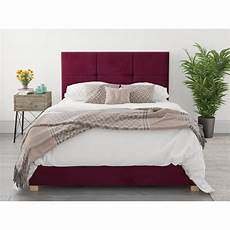 king berry fiona fabric ottoman storage bed frame 3ft