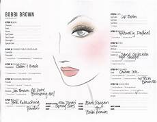 Face Chart Brown Brown For Nyfw Makeup Face Charts Face Chart