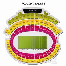 Af Falcon Stadium Seating Chart Falcon Stadium Seating Chart Vivid Seats