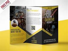 Tri Fold Flyer Multipurpose Trifold Business Brochure Free Psd Template D