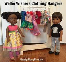 wellie wishers doll clothing hangers