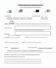 Credit Card Payment Form Template Credit Card Payment Authorization Form Template