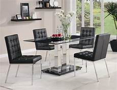 glass dining room sets rolien modern dining room set with tempered glass table
