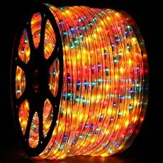 75 Ft Led Rope Light Led Rope Light Multicolored 1 2 Inch 150 Ft Yard Outlet