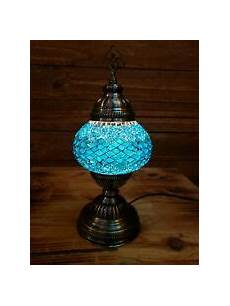Turkish Lamp Light Bulb Size Handcrafted Turkish Mosaic Table Lamp Free Light Bulb Ebay