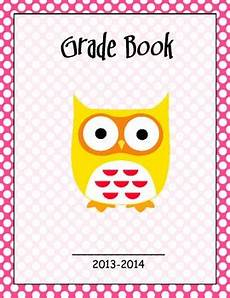 Gradebook Cover Grade Book Cover Page By Gowen Teachers Pay Teachers