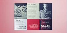 Template For Brochure Free Amazing Clean Trifold Brochure Template Free Download