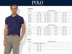 Polo Ralph Size Chart Mens Premier Men S Big Amp Polo Ralph Rochester Big