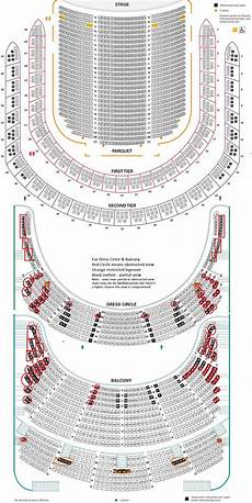 Usher Hall Seating Chart Carnegie Hall Detailed Seating Chart Amp Review Tickpick
