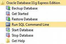 Start Database Installing Oracle 11g Xe Express Edition Codeproject
