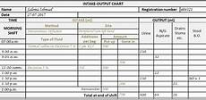 Intake And Output Chart Example The Intake Output Chart Health Care Service Delivery