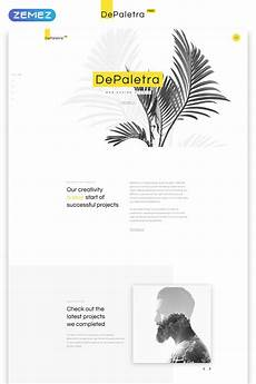 Single Page Website Templates Free Single Page Website Template In Flat Design