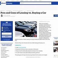 Leasing Vs Buying A Car What You Need To Know About Leasing A Car Pearltrees