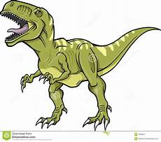 vector t rex dinosaur stock vector image of scary