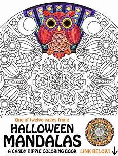 halloween mandala coloring pages items similar to halloween mandala coloring page mr