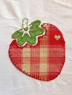 applique patchwork patchwork motif quot fraise en appliqu 233 quot gratuit